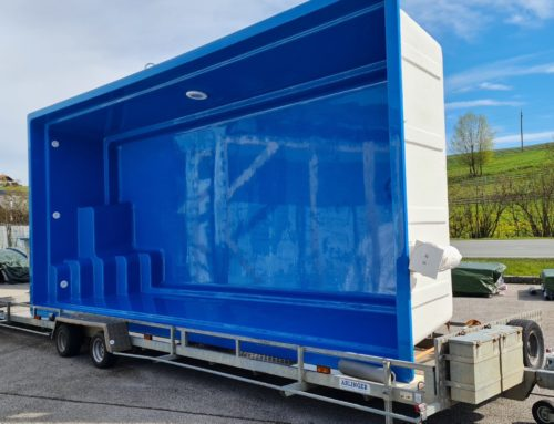 Polyester-Keramikbecken um € 13.200,- kurzfristig lieferbar